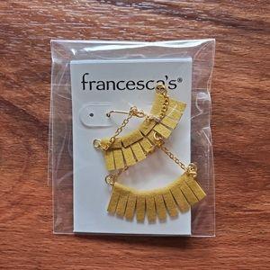 Francesca's A-frame earrings
